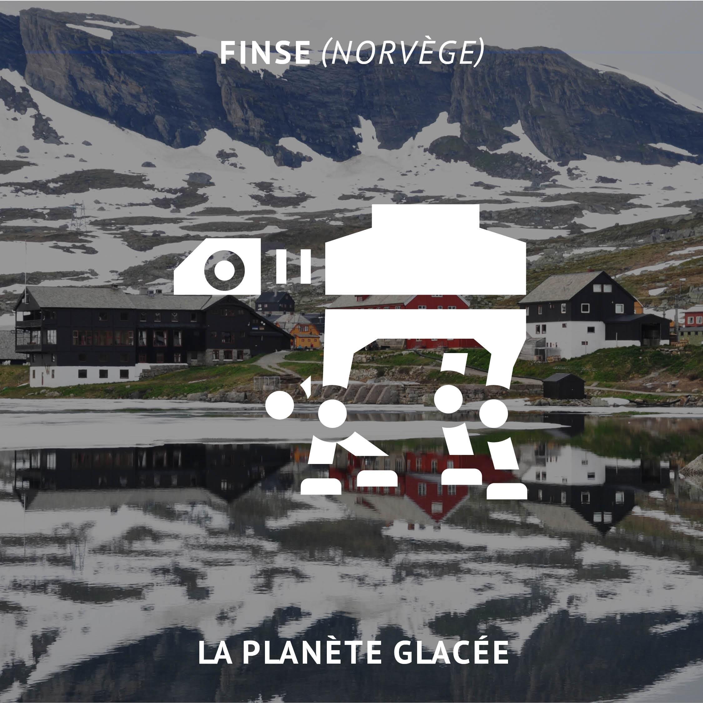 Planète glacée en Norvège