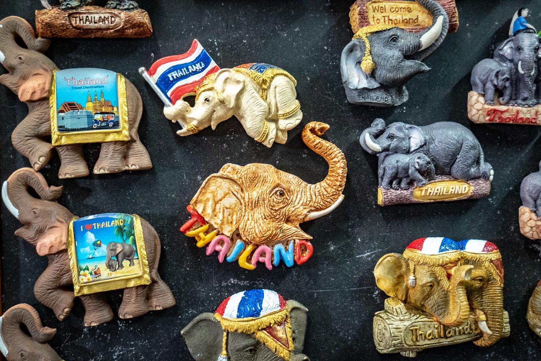 éléphants en Thailande