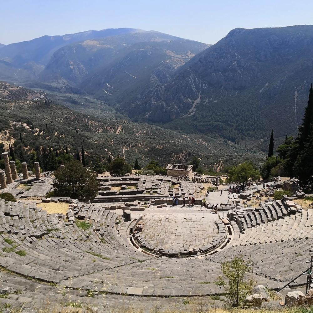 Delphes en Grèce