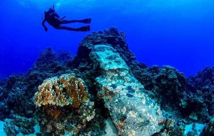 10 mystérieuses statues sous-marines