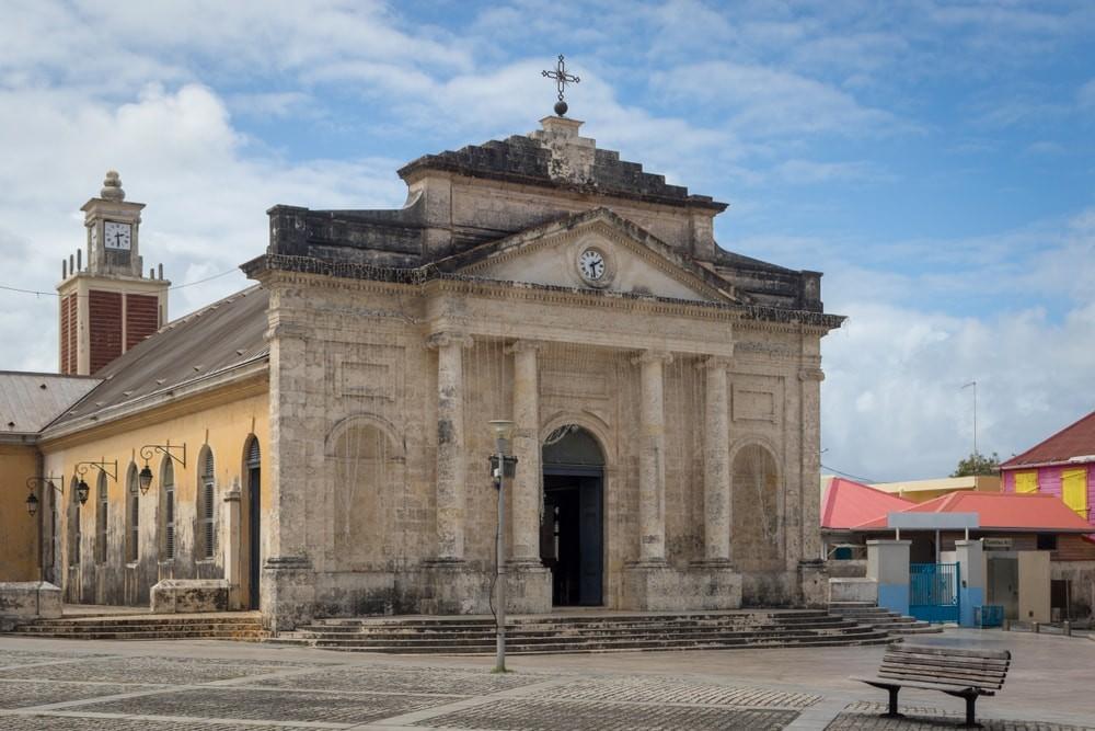 monuments historiques à guadeloupe