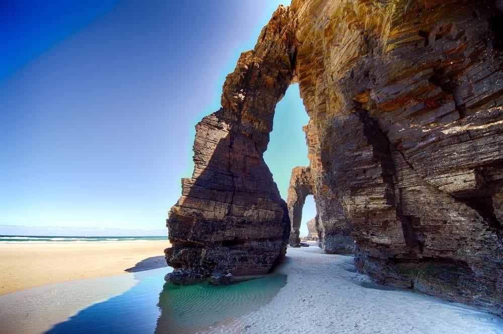 La plage des Cathédrales