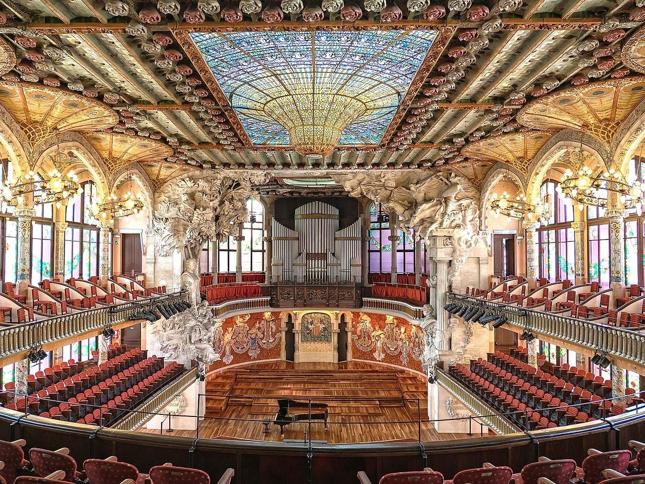 visitez le Palau de la Música Catalana
