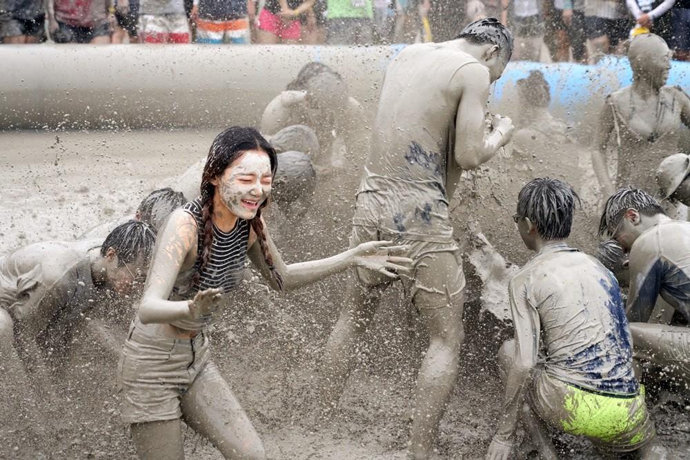 Boryeong Mud Festival - Boryeong, Corée du Sud