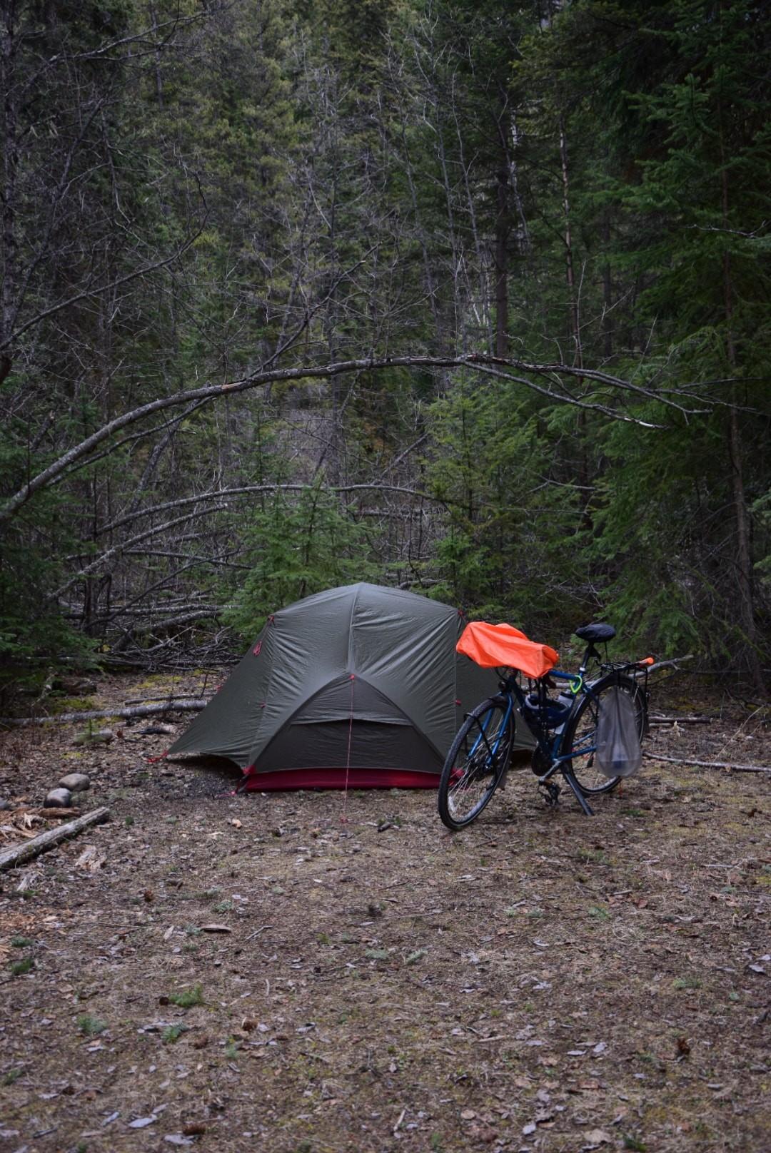 Camping sauvage au Canada