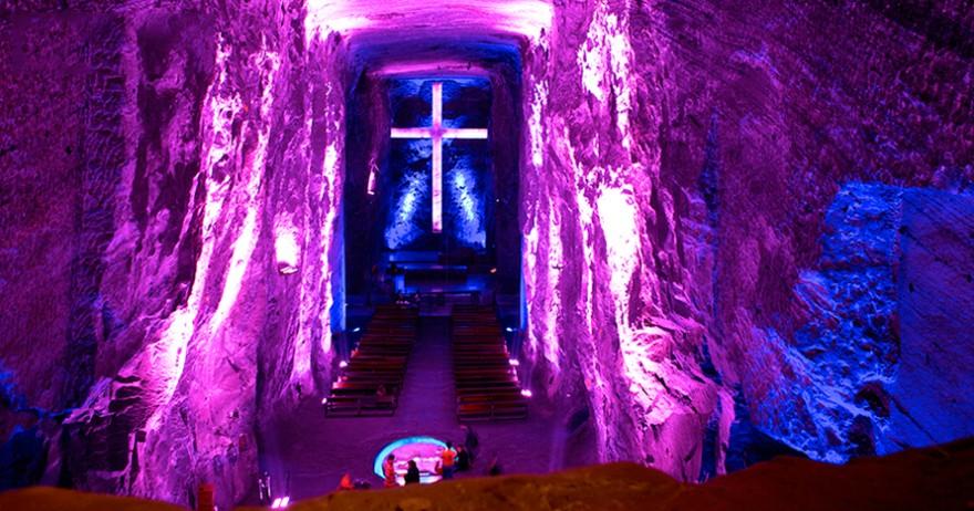 cathédrale de sel de ziquatera