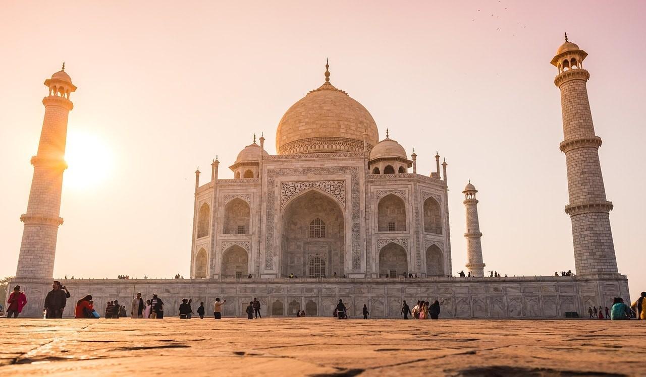 Taj Mahal patrimoine mondial de l'Unesco