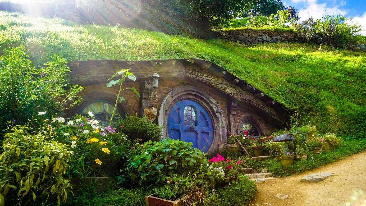 maisons de hobbits