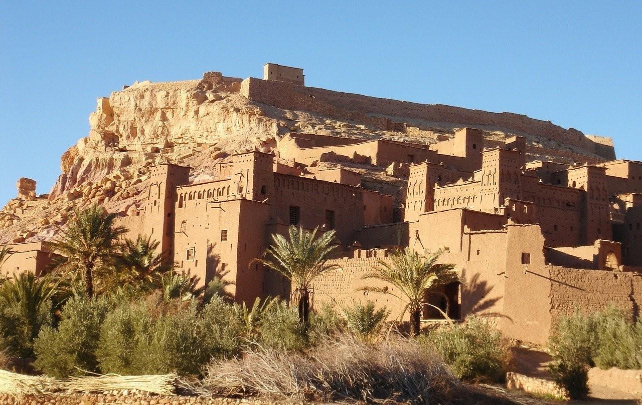 kasbah ait benhaddou au maroc