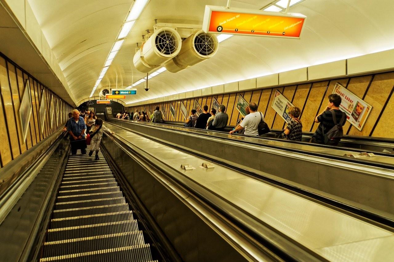 métro à Budapest