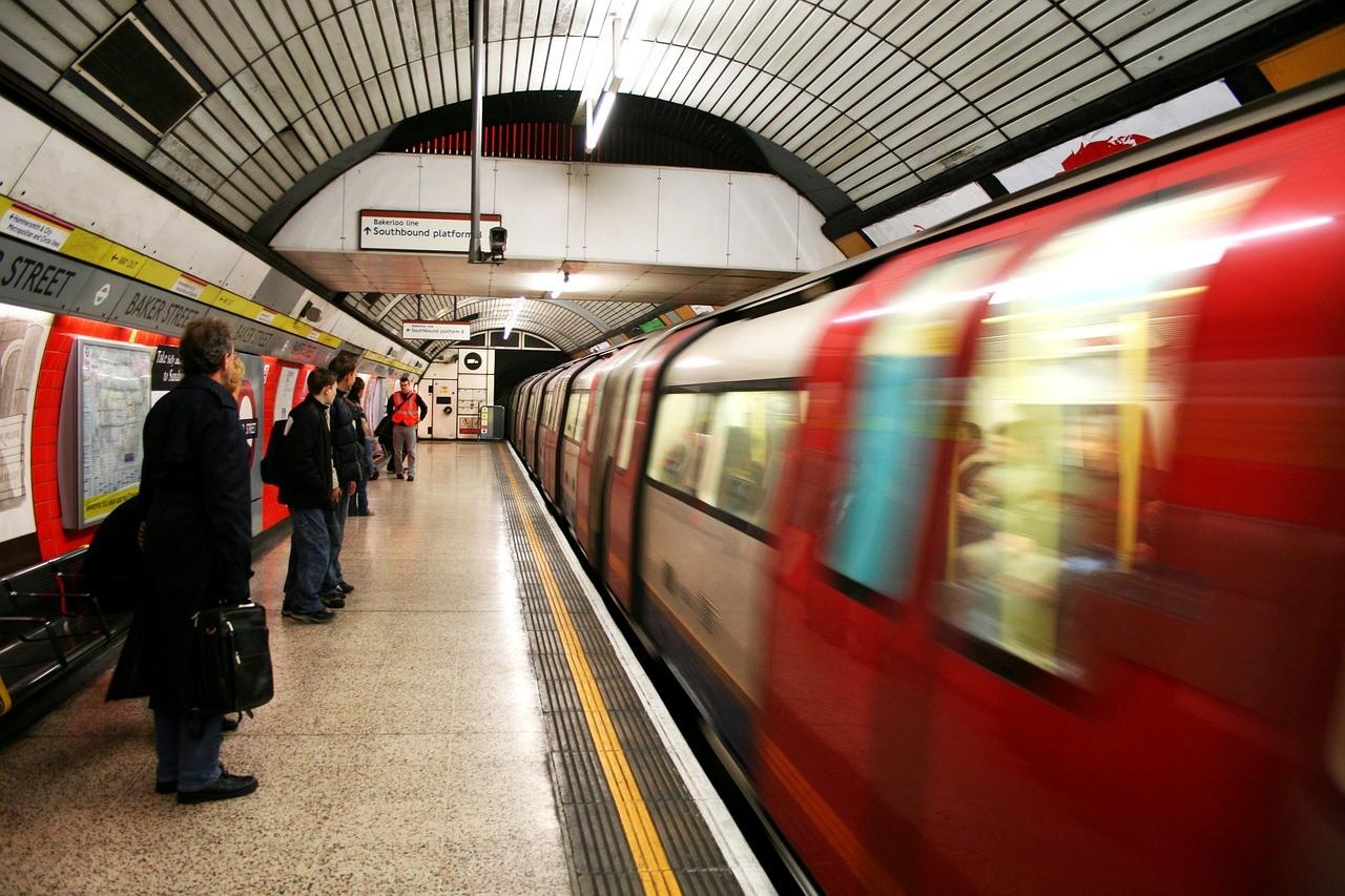 transports à Londres métro underground