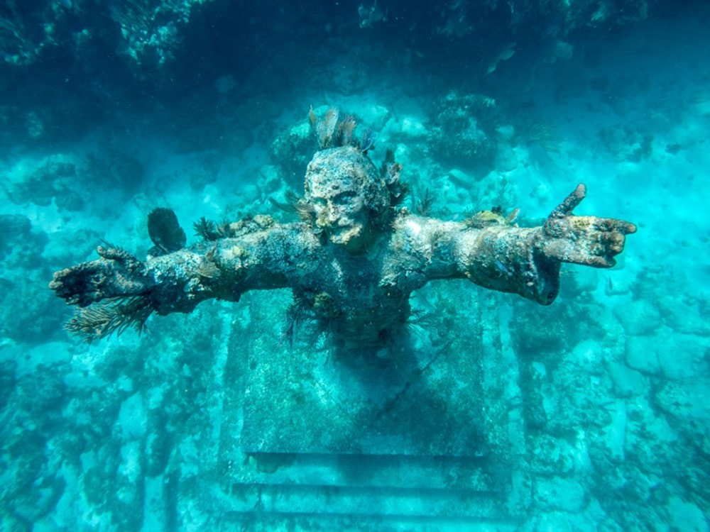 Christ des abysses de Key Largo