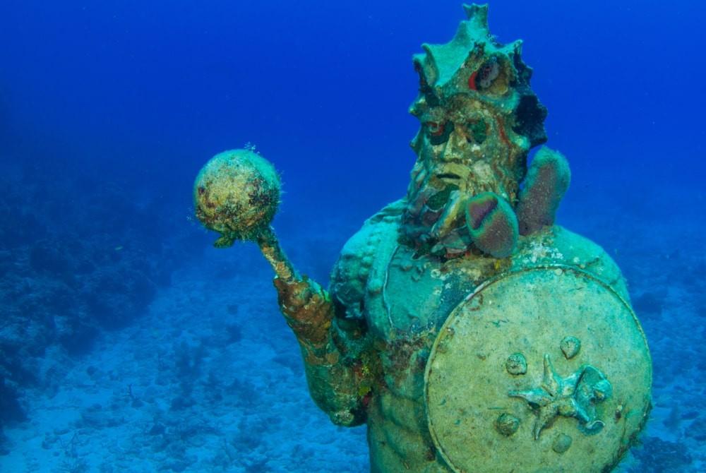 statue du Gardien du Récif