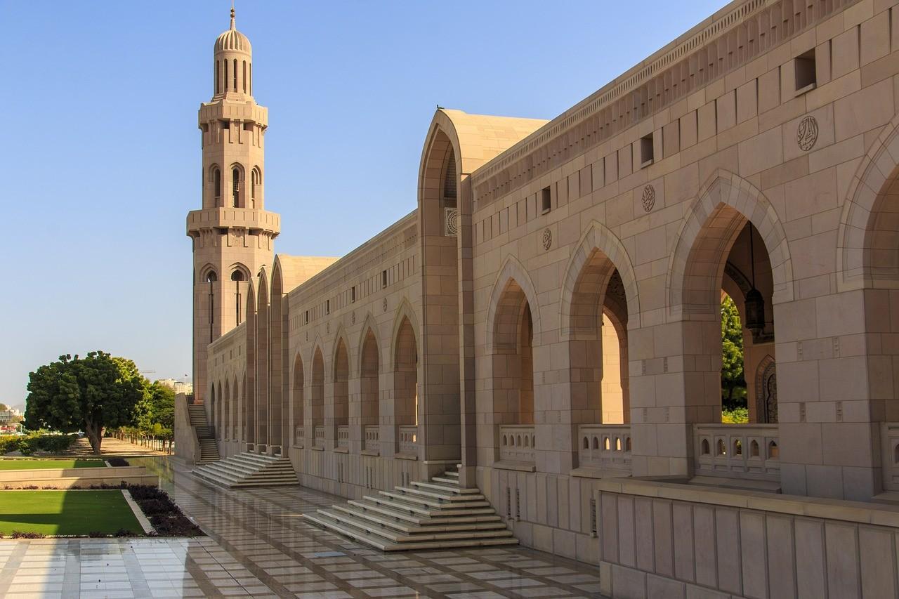 Mosquée à Oman