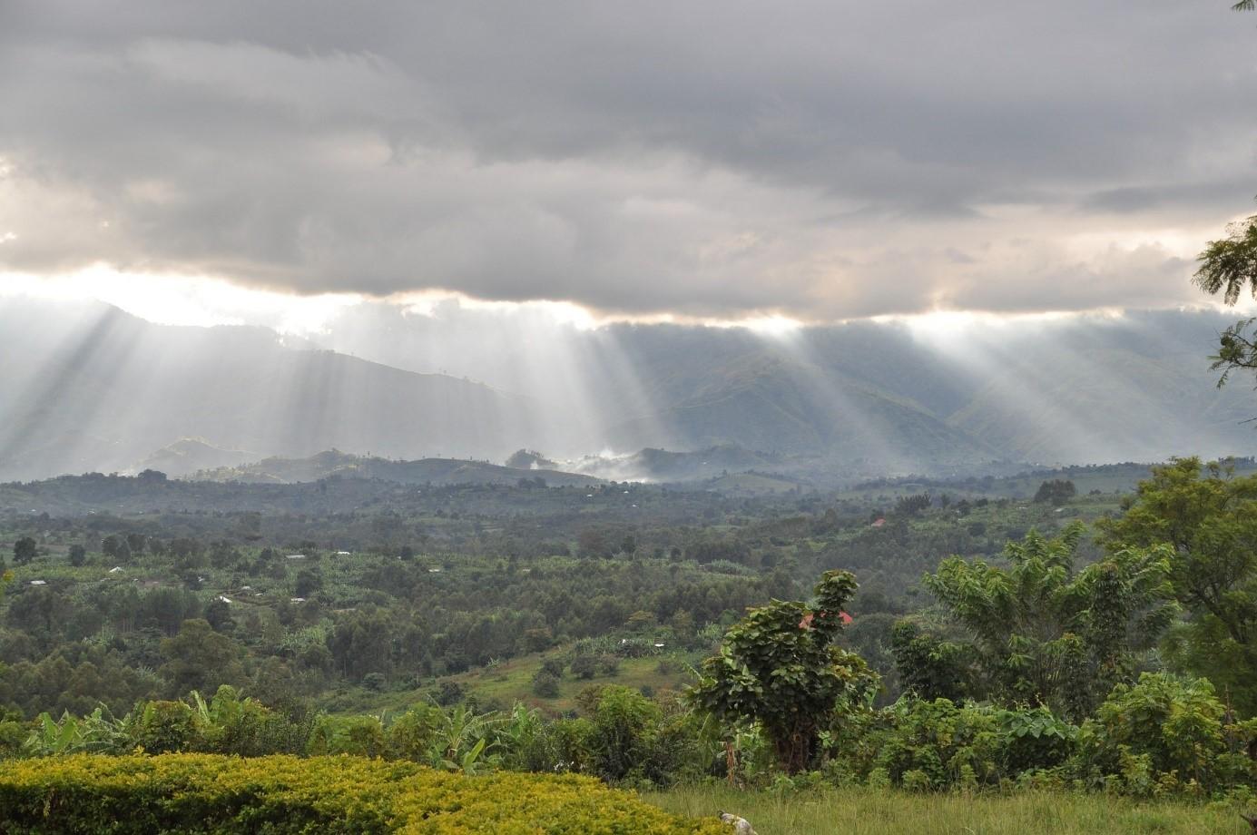 volcans montagnes virunga