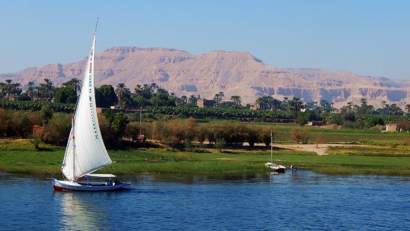 nil en egypte