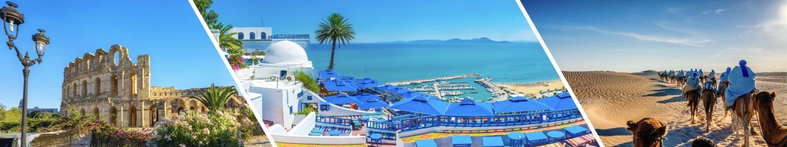 villes à visiter en Tunisie
